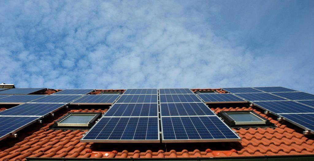 Reinigung Solaranlage mit Reinwasser